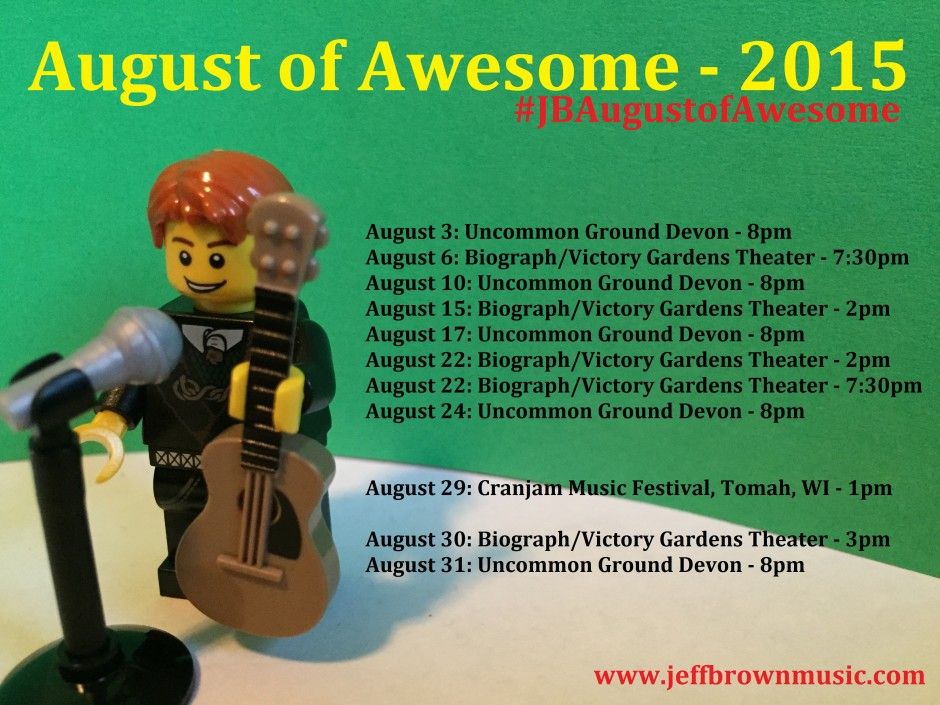 August of Awesome